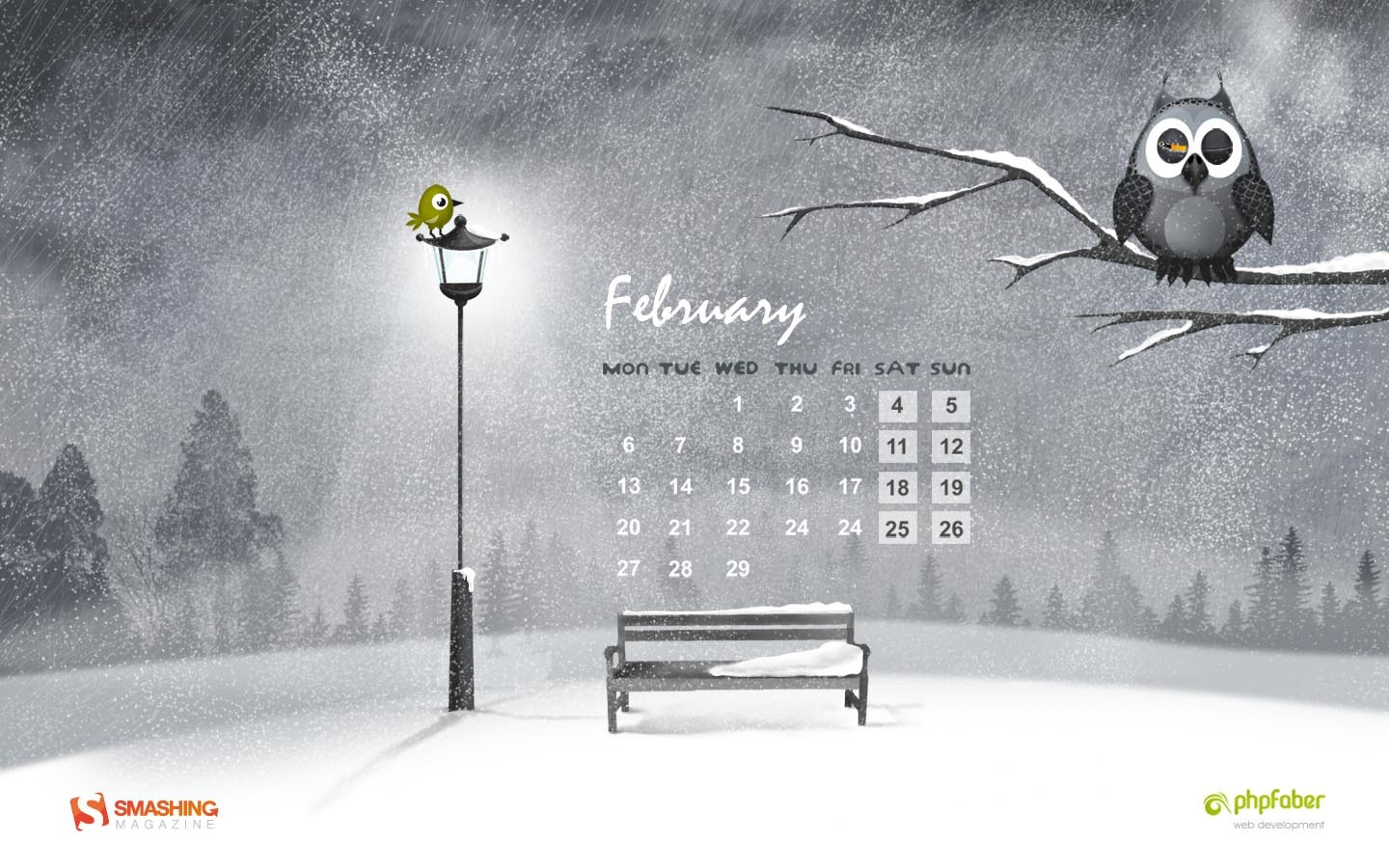 In January Calendar Wallpaper 31374