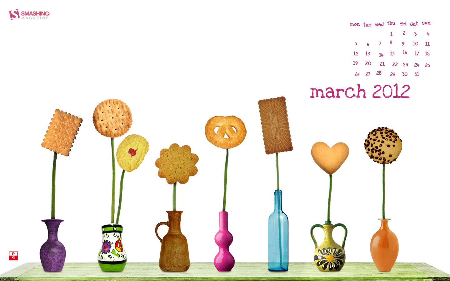 March Calendar illustrator 31383