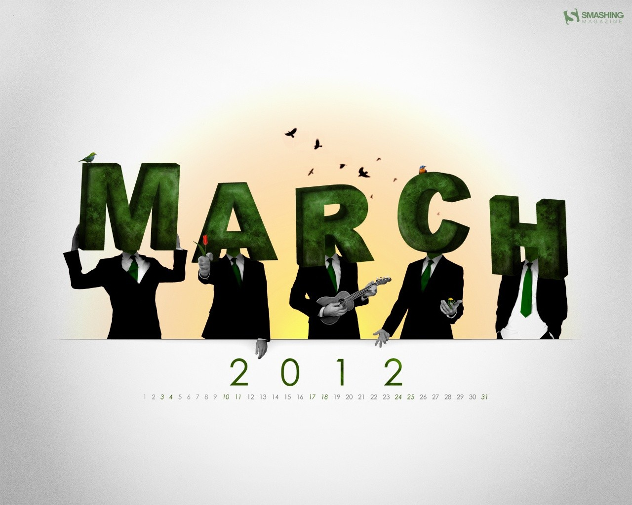 March Calendar illustrator 31393