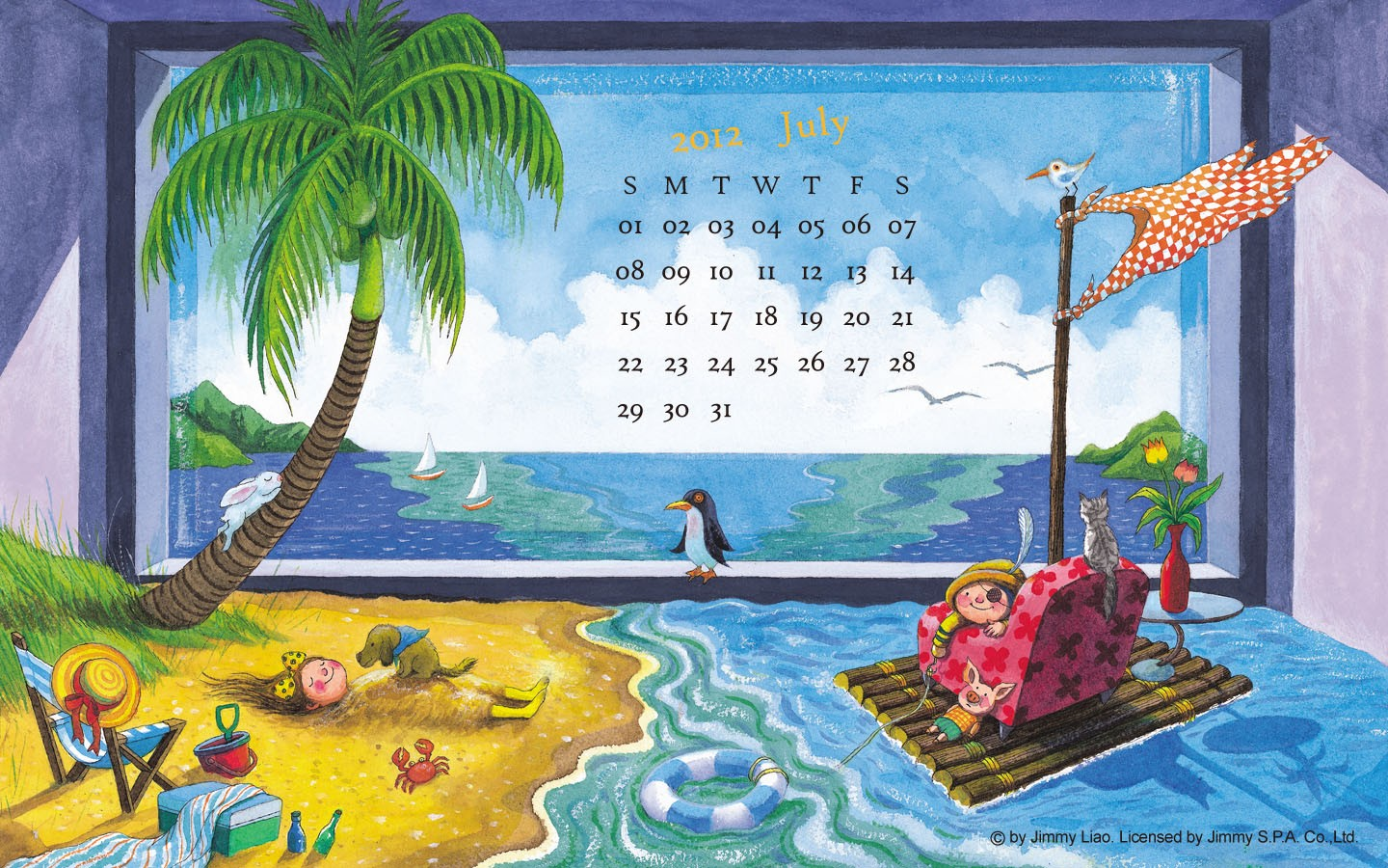 In January Calendar Wallpaper 31439