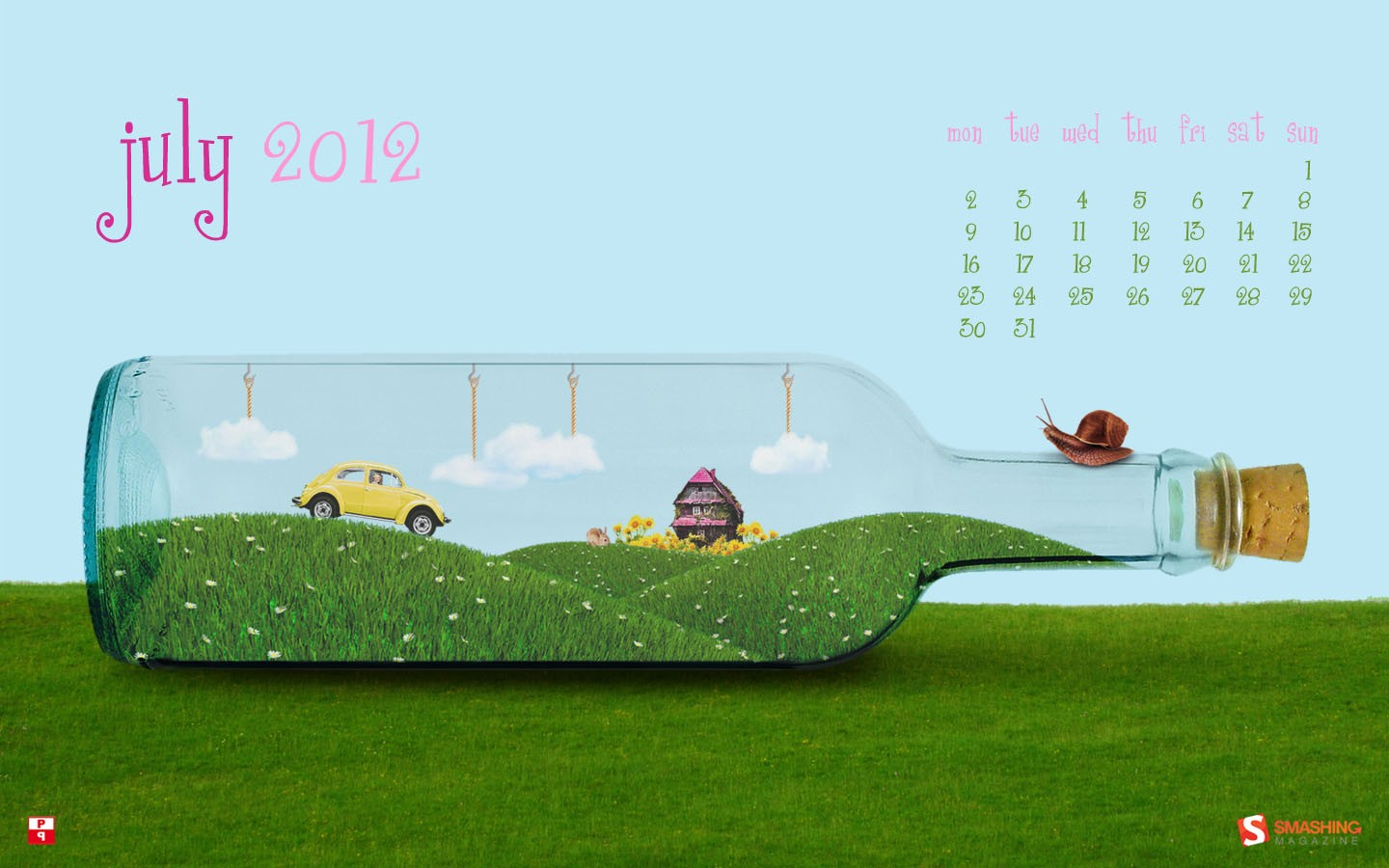 In January Calendar Wallpaper 31447