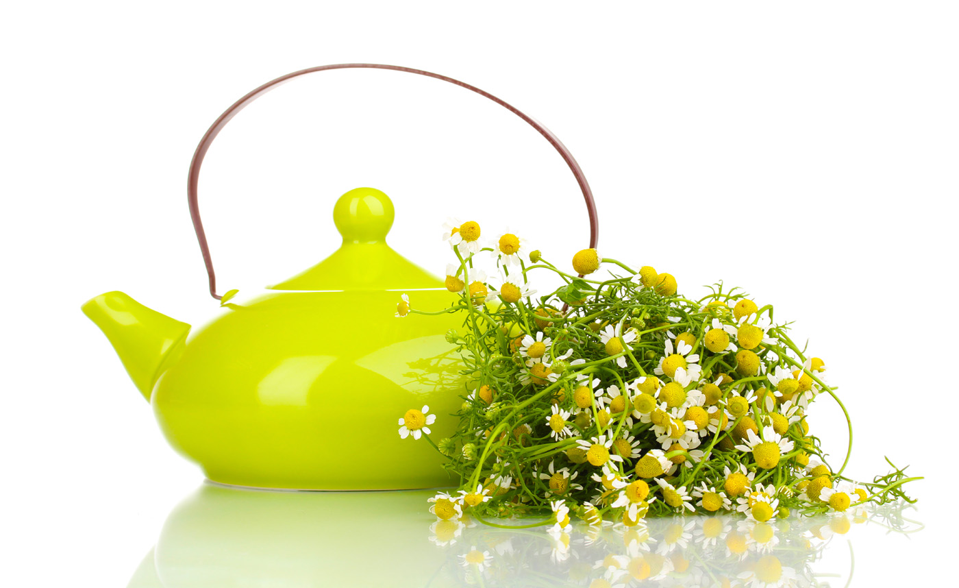 Teapot with flowers 31487