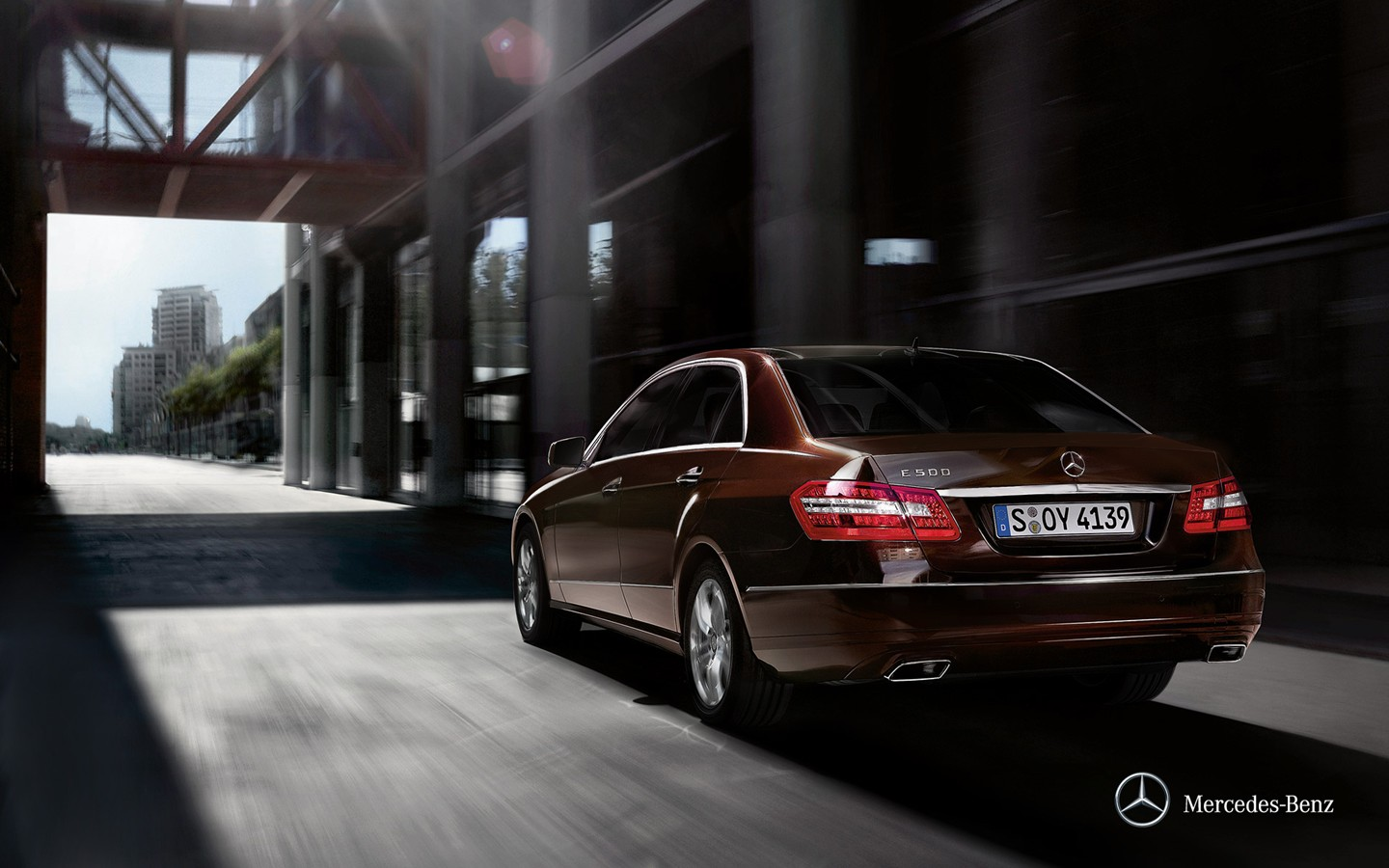 The new Mercedes-Benz E-Class Saloon wallpaper 31878