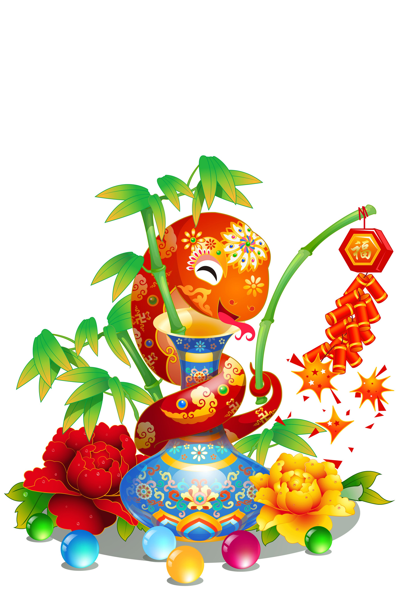 Year Of The Snake Blessing 32085 New Wallpapers Festival