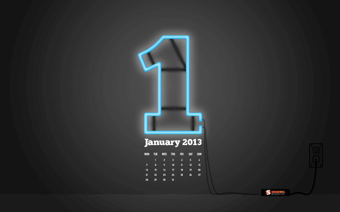 In January Calendar Wallpaper 32097