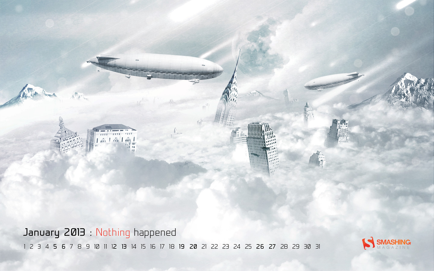In January Calendar Wallpaper 32128