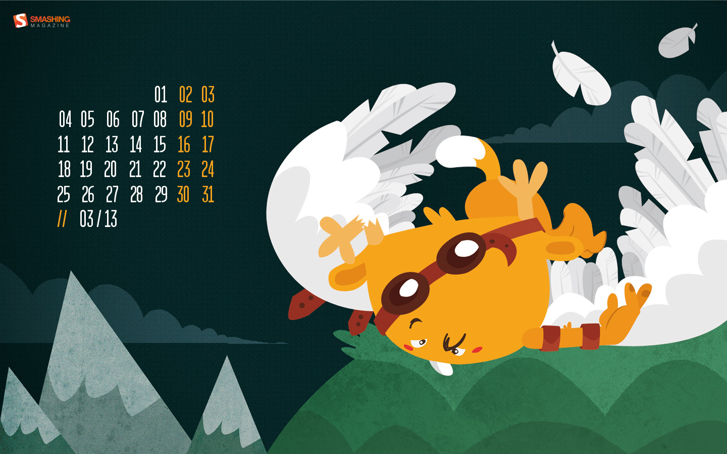 In January Calendar Wallpaper 32231