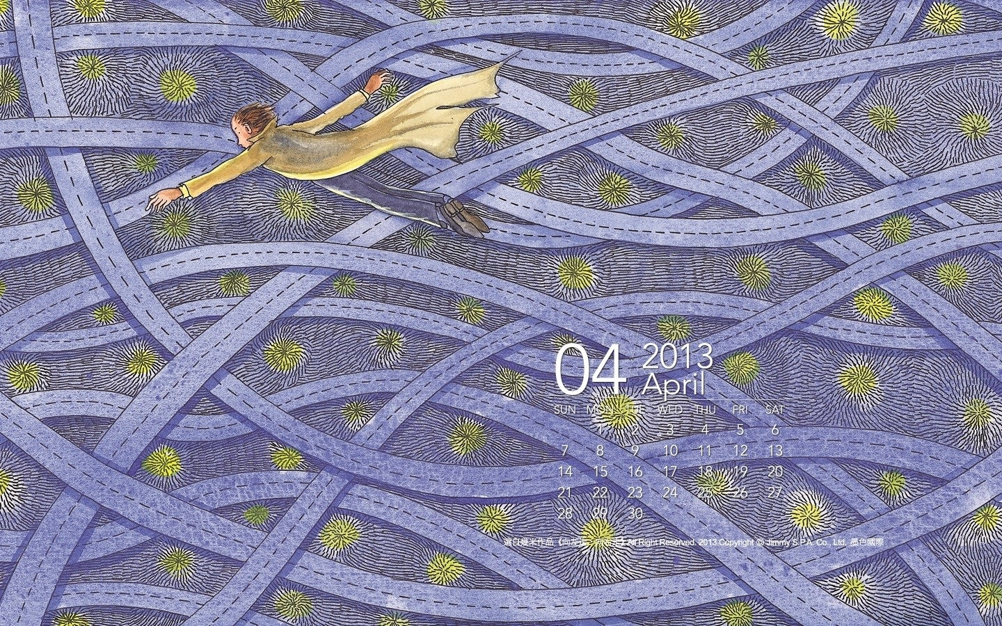 Month Calendar Wallpaper 32269