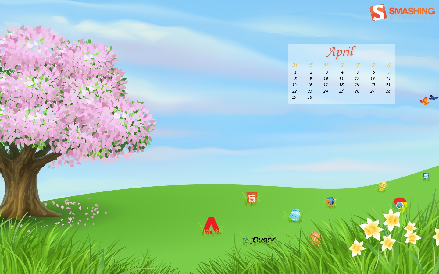 Month Calendar Wallpaper 32285