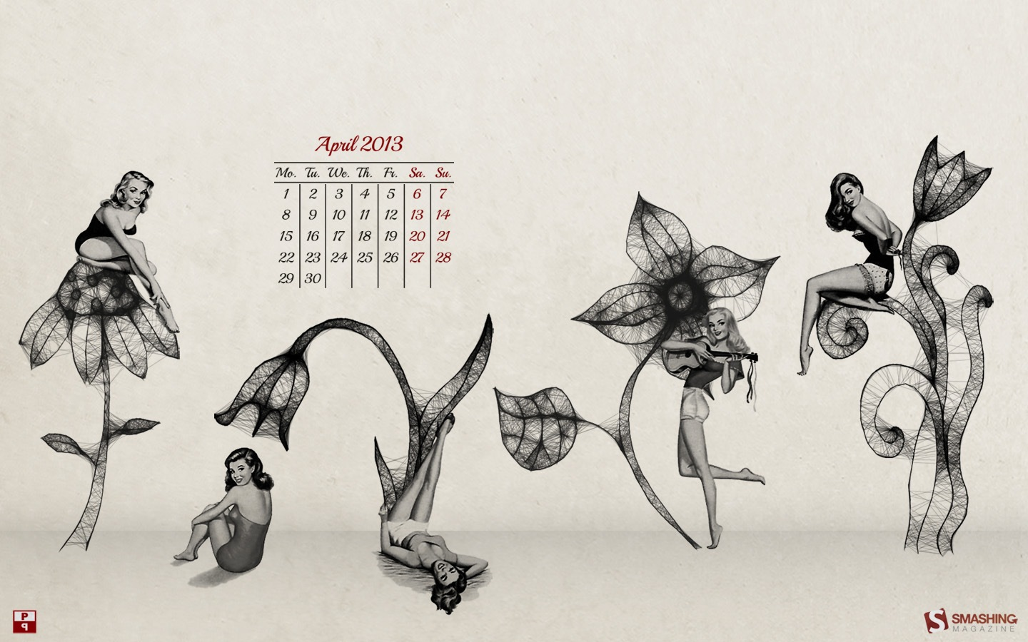 Month Calendar Wallpaper 32287