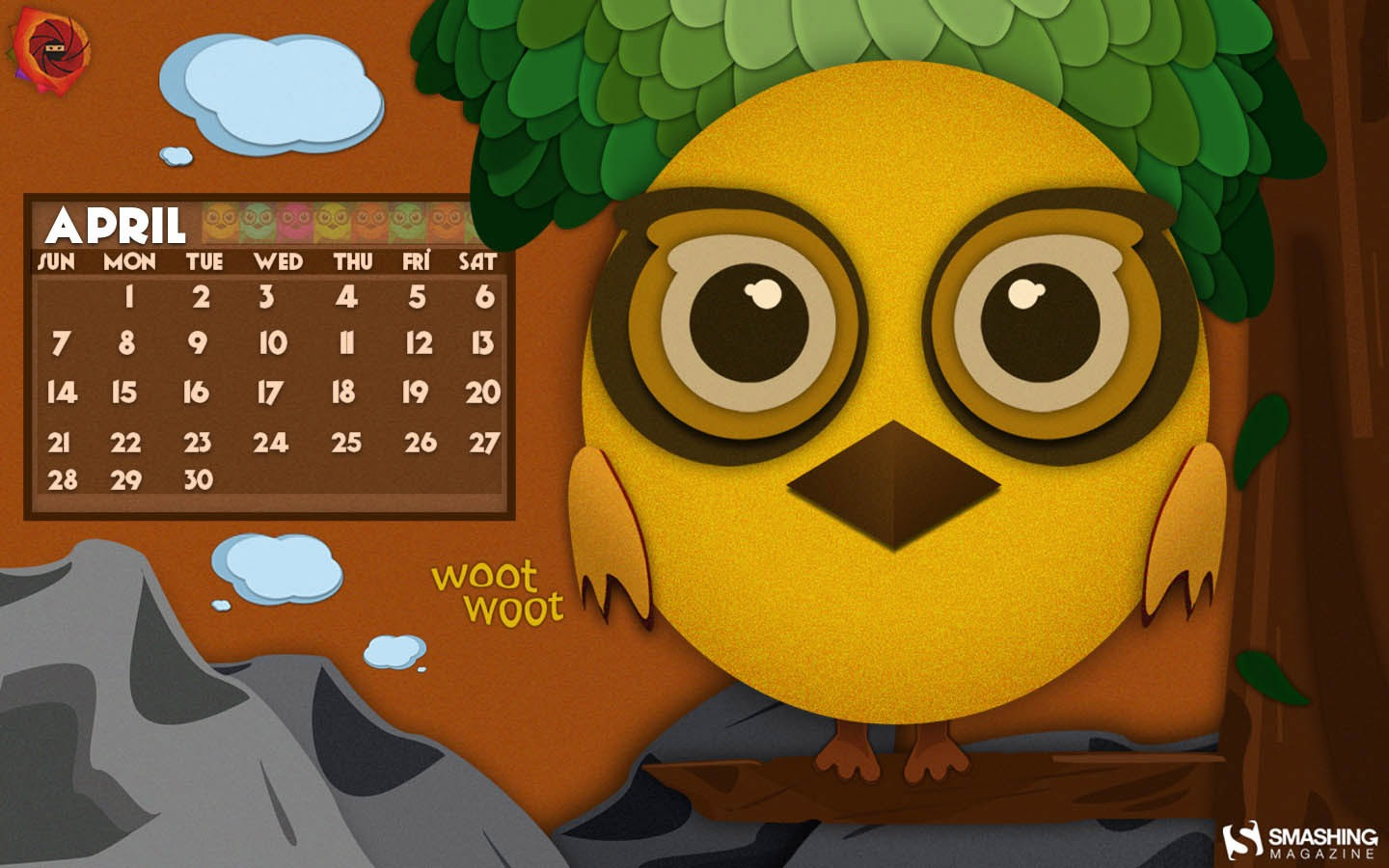 Month Calendar Wallpaper 32304