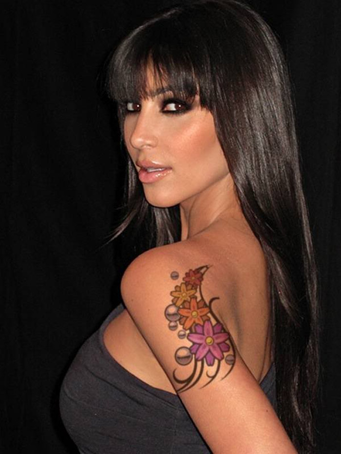 Girl With Tattoo On Arm 32364 Tattoos Beauty Style