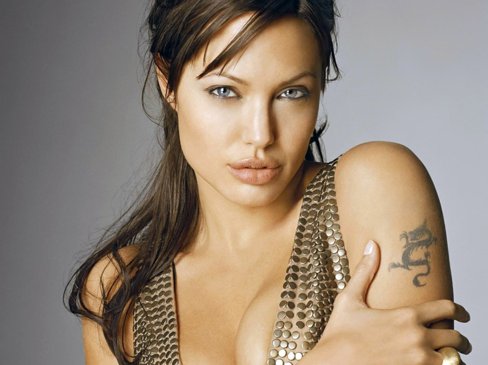 dragon tattoo on arm famous actress 32366