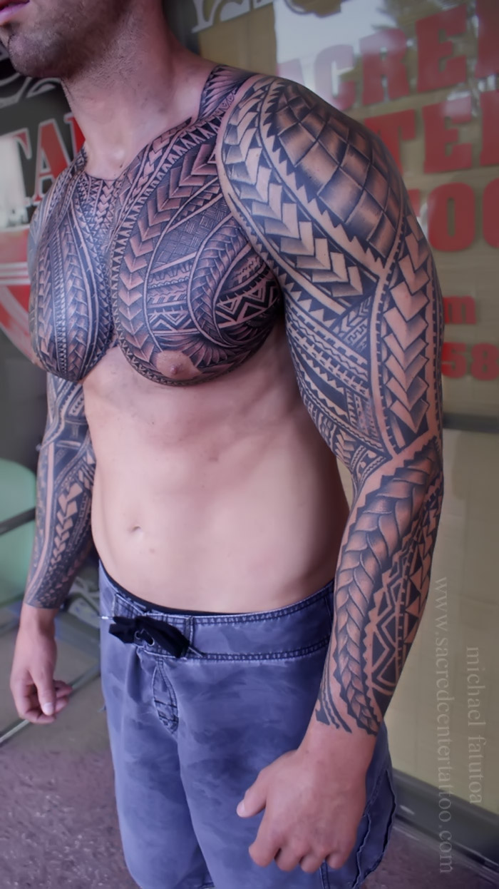 tattoo on muscular man 32377