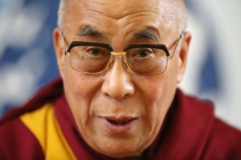 The Dalai Lama Speaks in Cambridge 32580