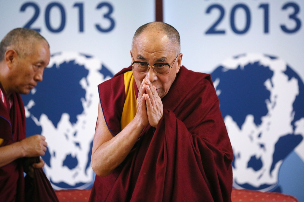 The Dalai Lama Speaks in Cambridge 32604