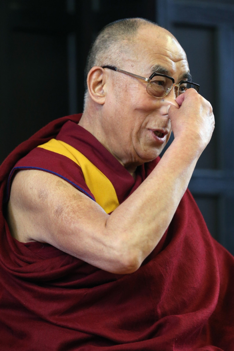 The Dalai Lama Speaks in Cambridge 32645