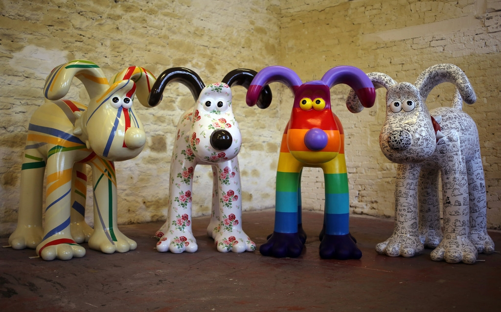 Artists Announced for Gromit Unleashed 32740