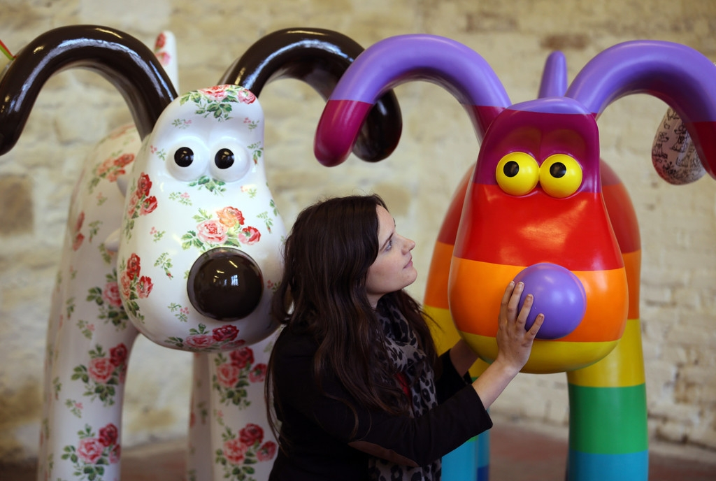 Artists Announced for Gromit Unleashed 32741