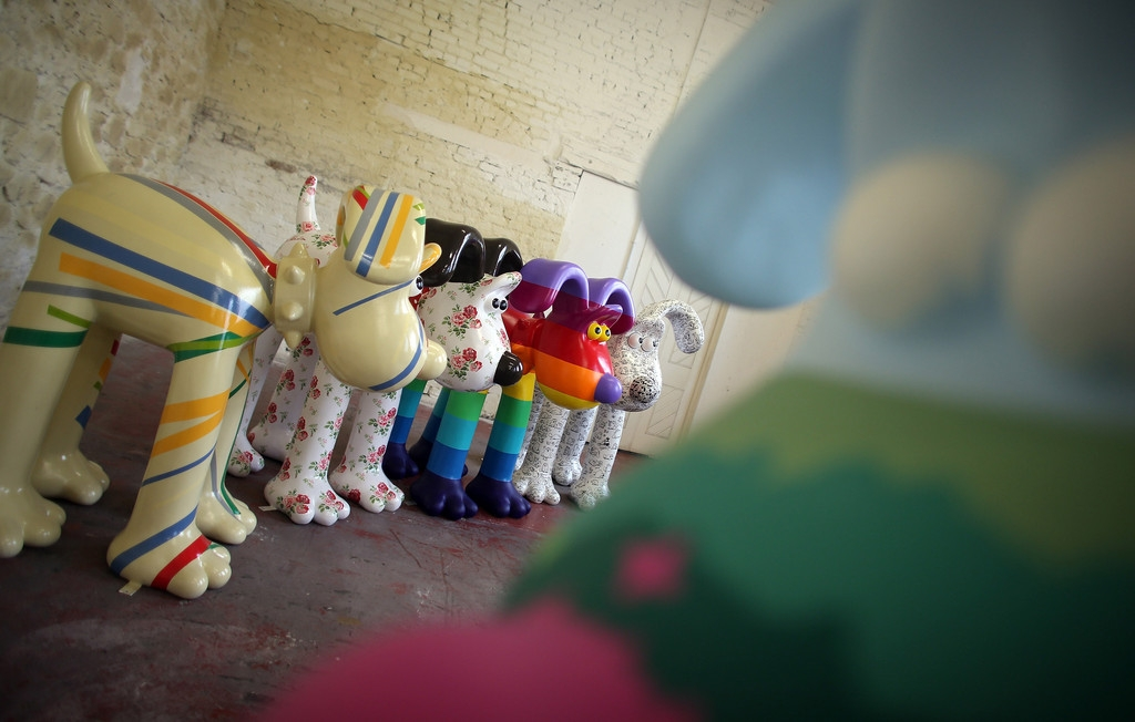 Artists Announced for Gromit Unleashed 32754
