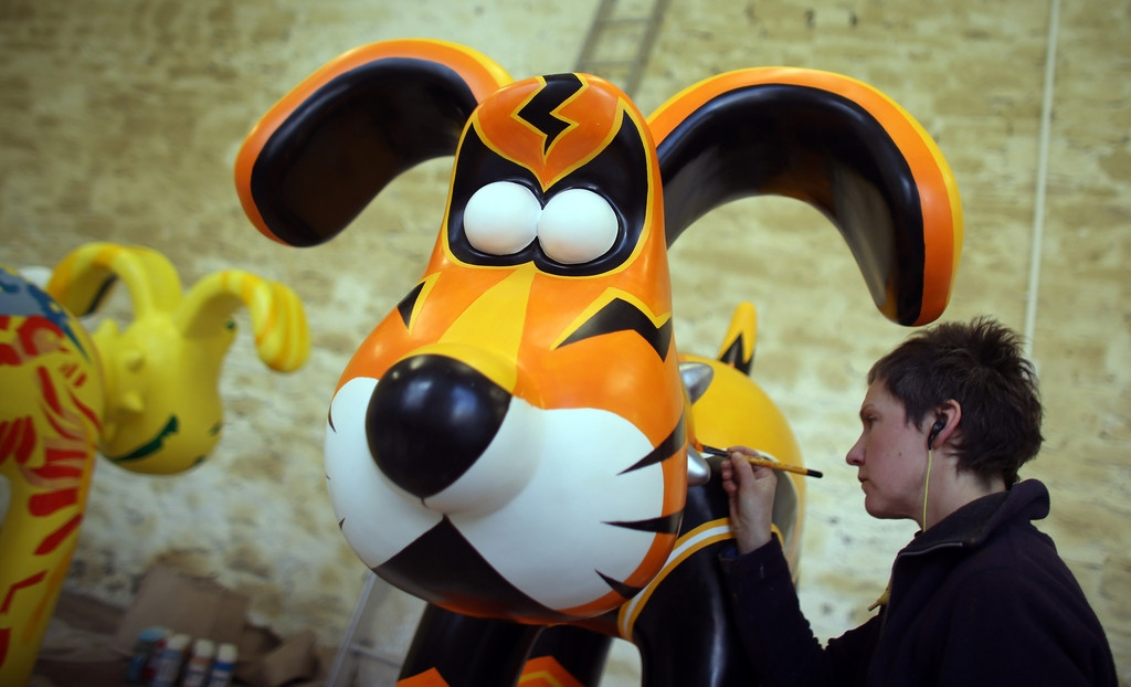 Artists Announced for Gromit Unleashed 32755