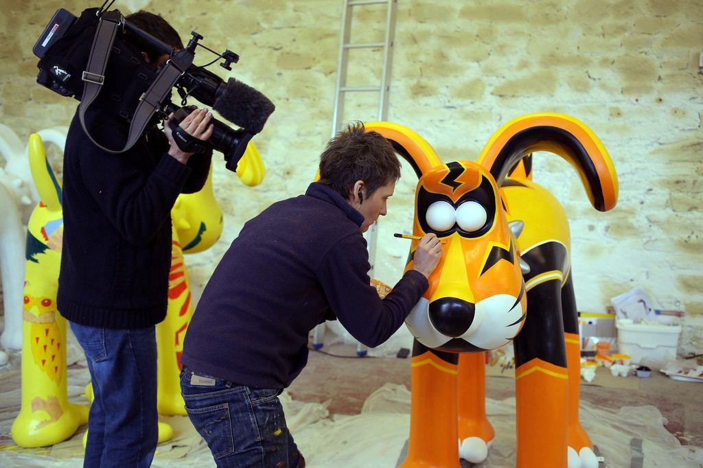 Artists Announced for Gromit Unleashed 32766