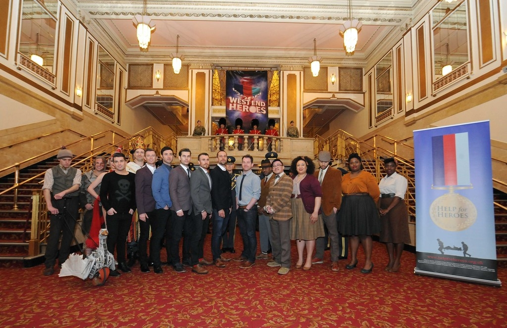 West End Heroes Photo Call 32845