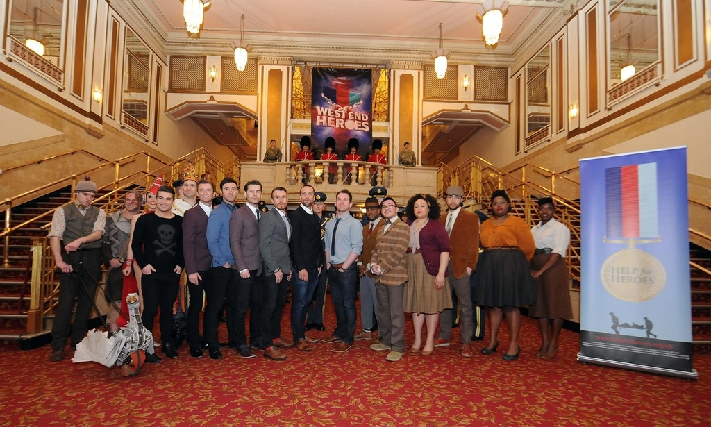 West End Heroes Photo Call 32856
