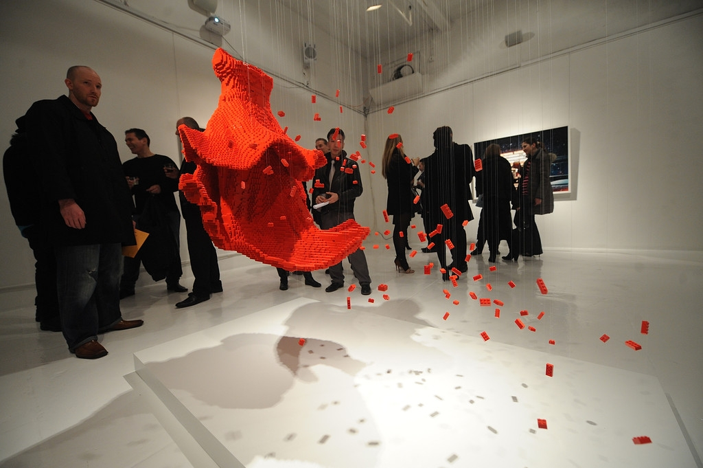 In Pieces Exhibition Opening 33398