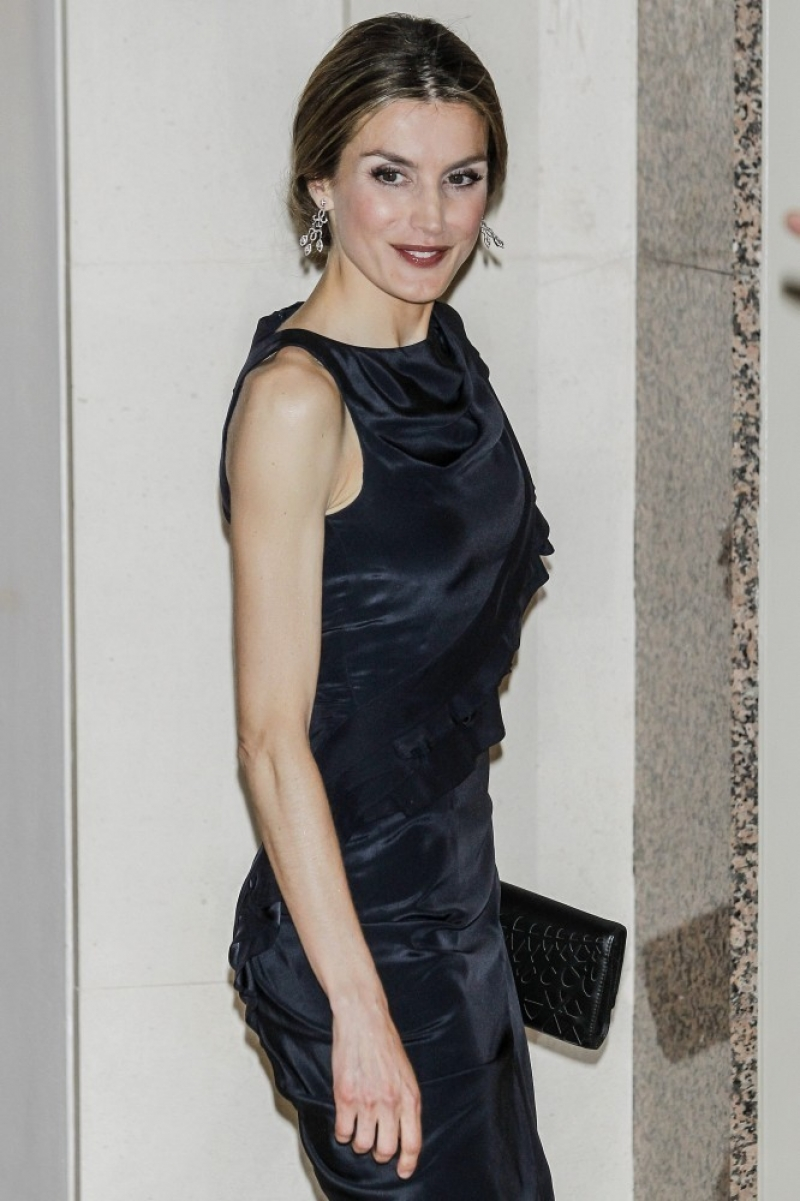 Princess Letizia at the Luca de Tena Foundation Anniversary Concert 33439