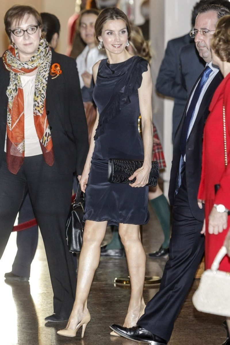 Princess Letizia at the Luca de Tena Foundation Anniversary Concert 33440