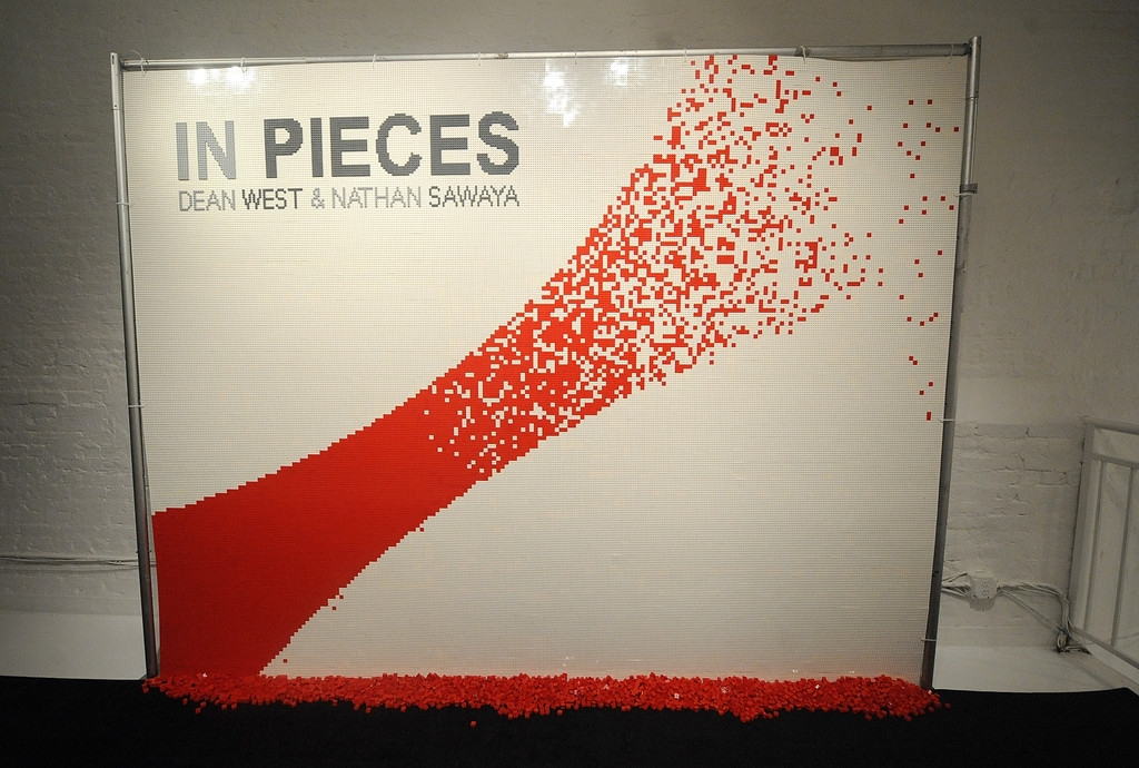 In Pieces Exhibition Opening 33447