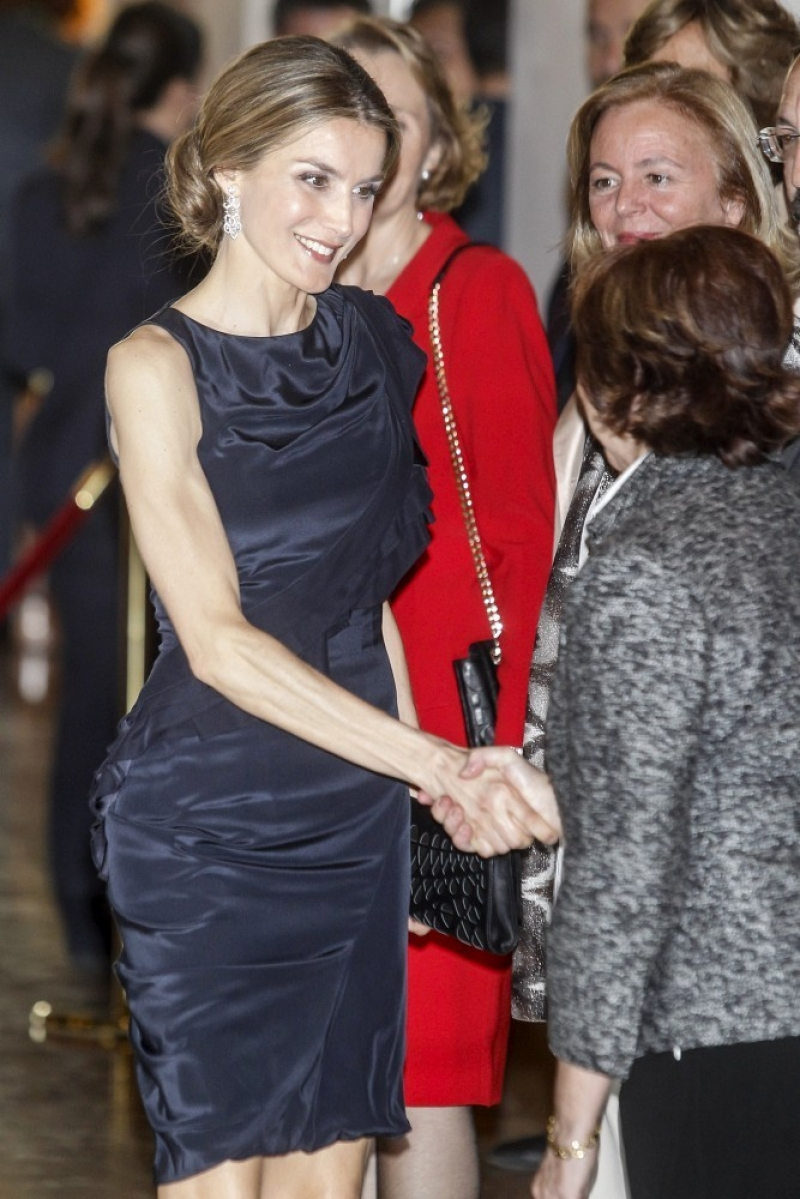 Princess Letizia at the Luca de Tena Foundation Anniversary Concert 33455
