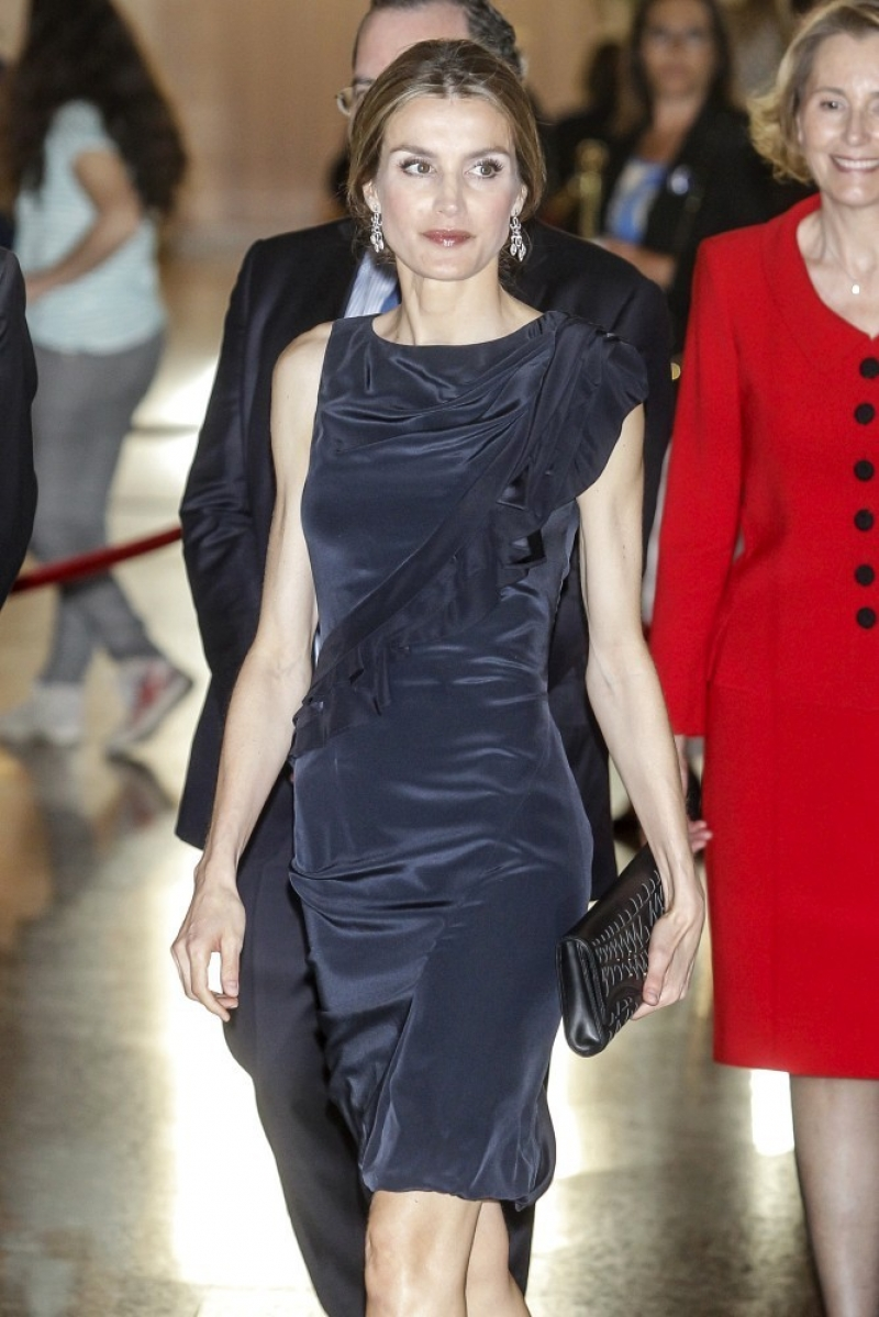 Princess Letizia at the Luca de Tena Foundation Anniversary Concert 33472