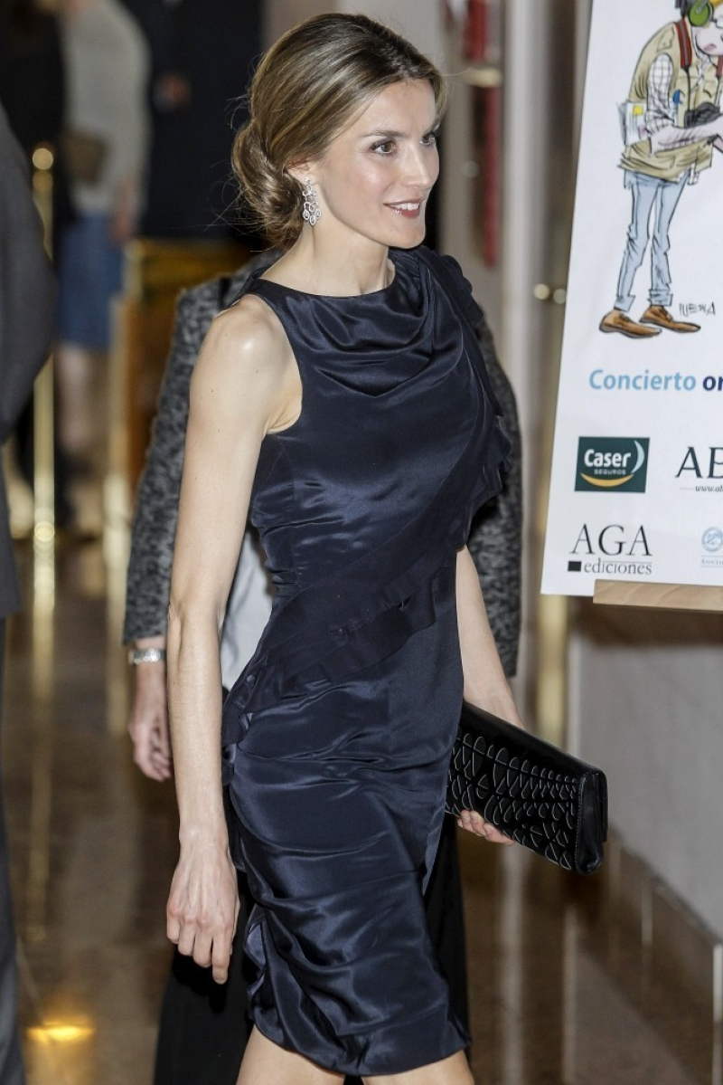 Princess Letizia at the Luca de Tena Foundation Anniversary Concert 33500