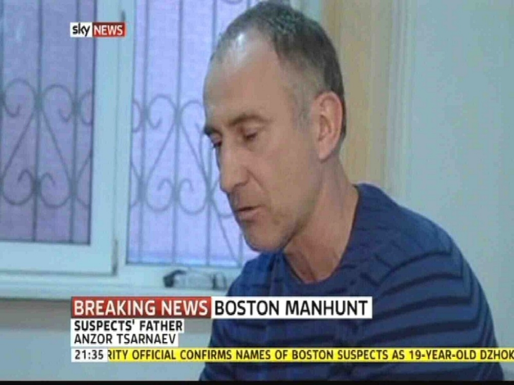 Father of the Alleged Boston Marathon Bombers Speaks Out 33548
