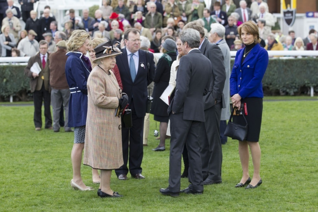 Queen Elizabeth II Wins Big at the Newbury Races 33667