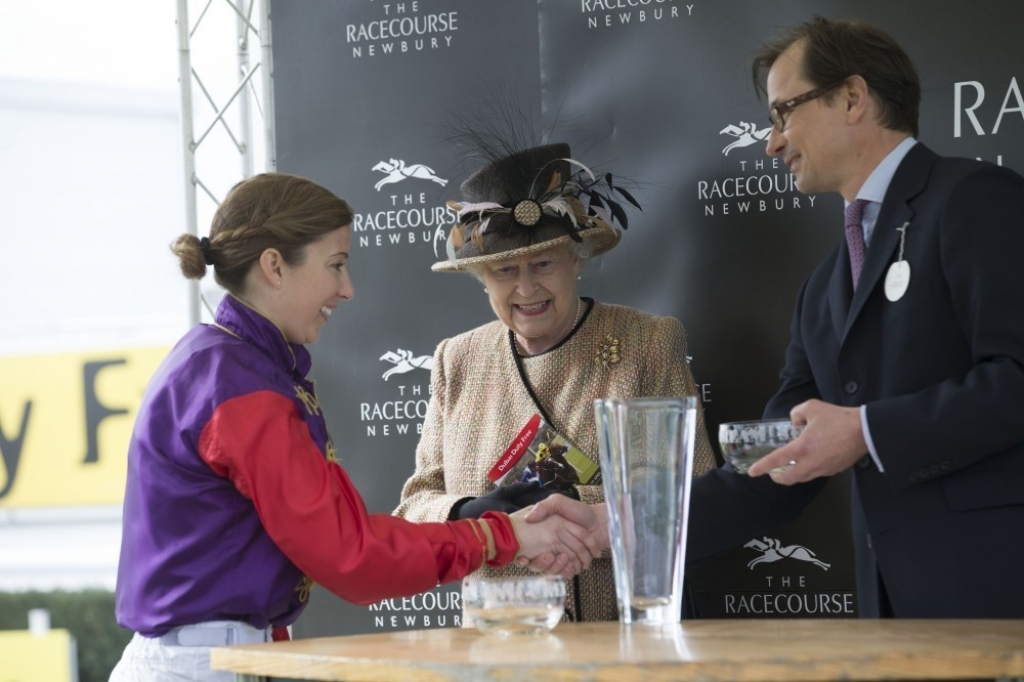 Queen Elizabeth II Wins Big at the Newbury Races 33742