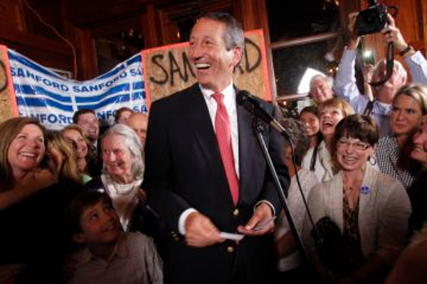 Comeback Win Mark Sanford of South Carolina, a time to forgive 34305