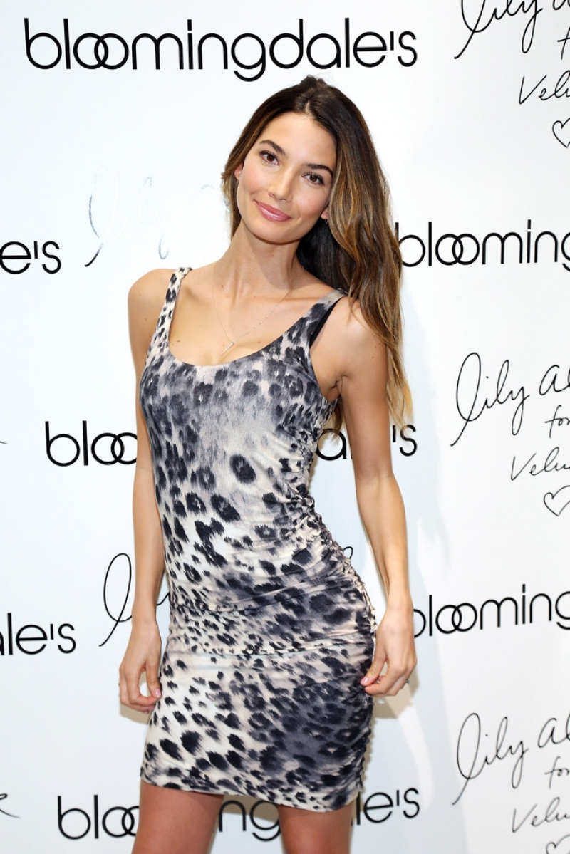 'Lily Aldridge For Velvet' Launches in NYC 34421