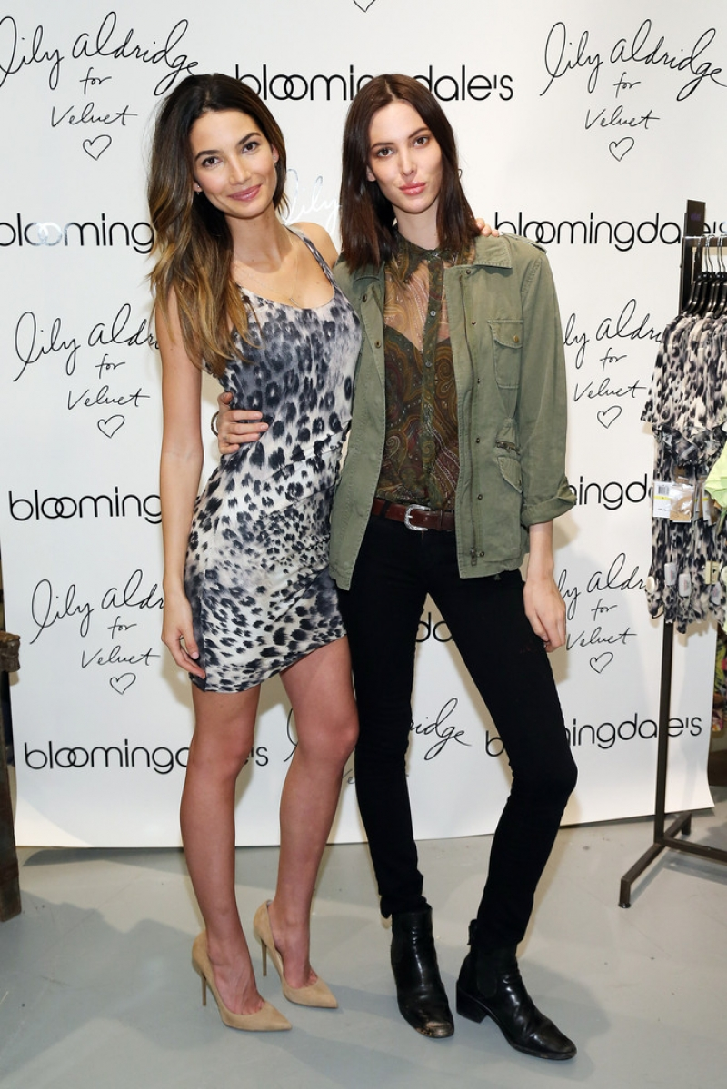 'Lily Aldridge For Velvet' Launches in NYC 34423