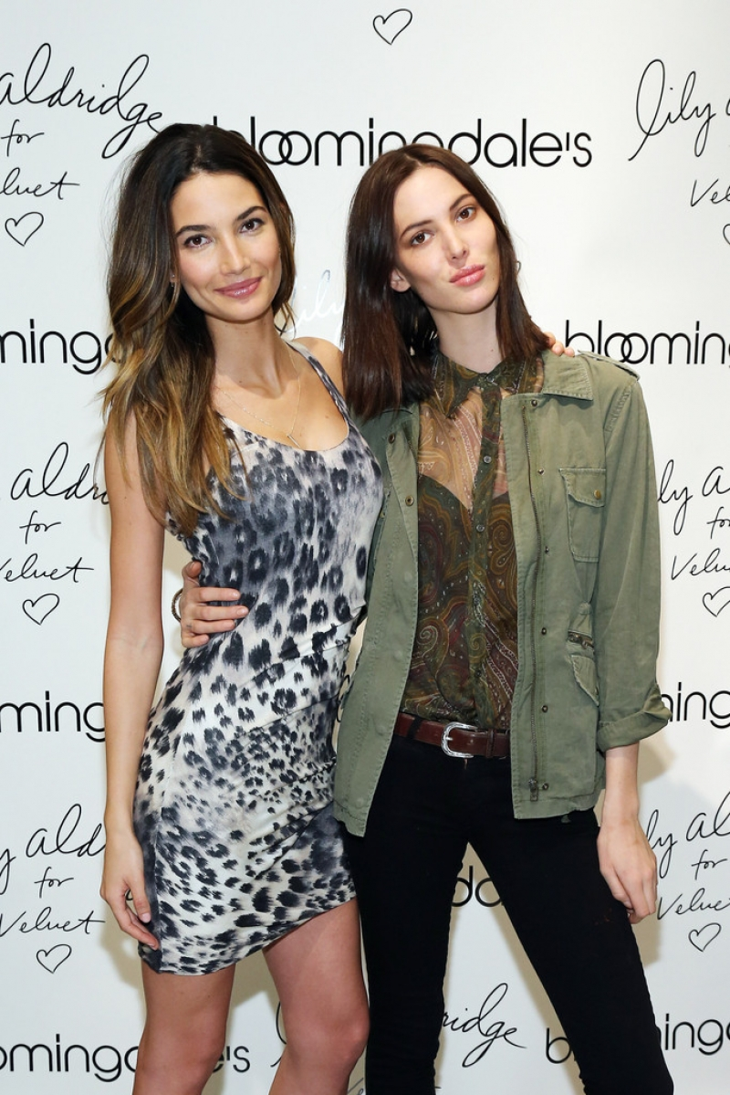'Lily Aldridge For Velvet' Launches in NYC 34472