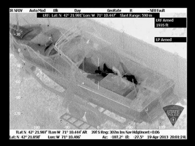 Bombing Suspect #2 In Custody 34477