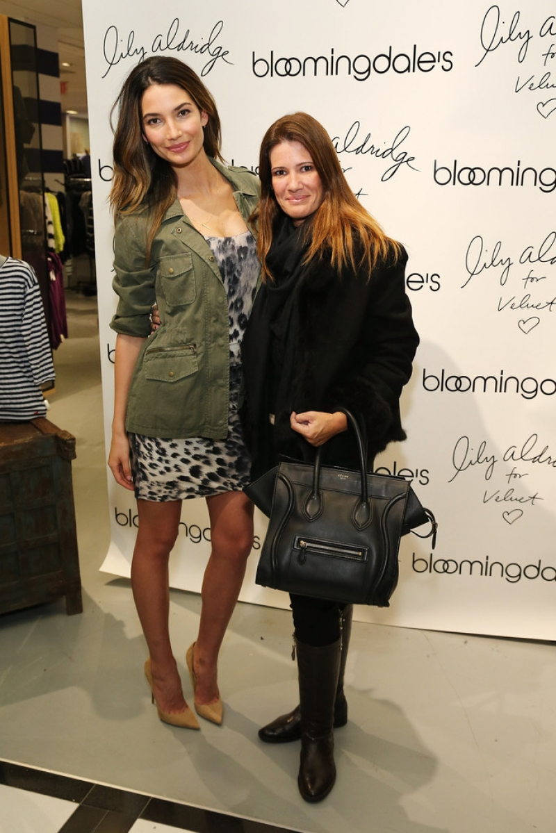 'Lily Aldridge For Velvet' Launches in NYC 34504
