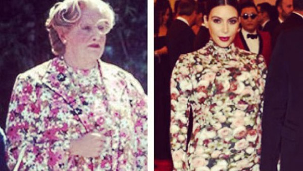 Robin Williams Kim Kardashian: Who wore it best 34509