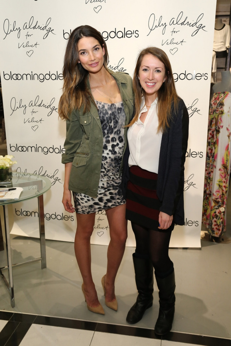 'Lily Aldridge For Velvet' Launches in NYC 34510