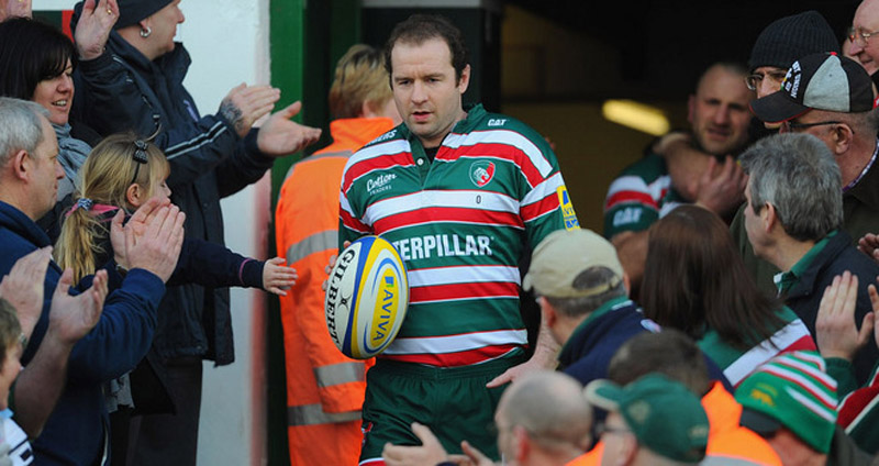 Leicester Tigers captain Geordan Murphy announced his retirement from rugby 34613