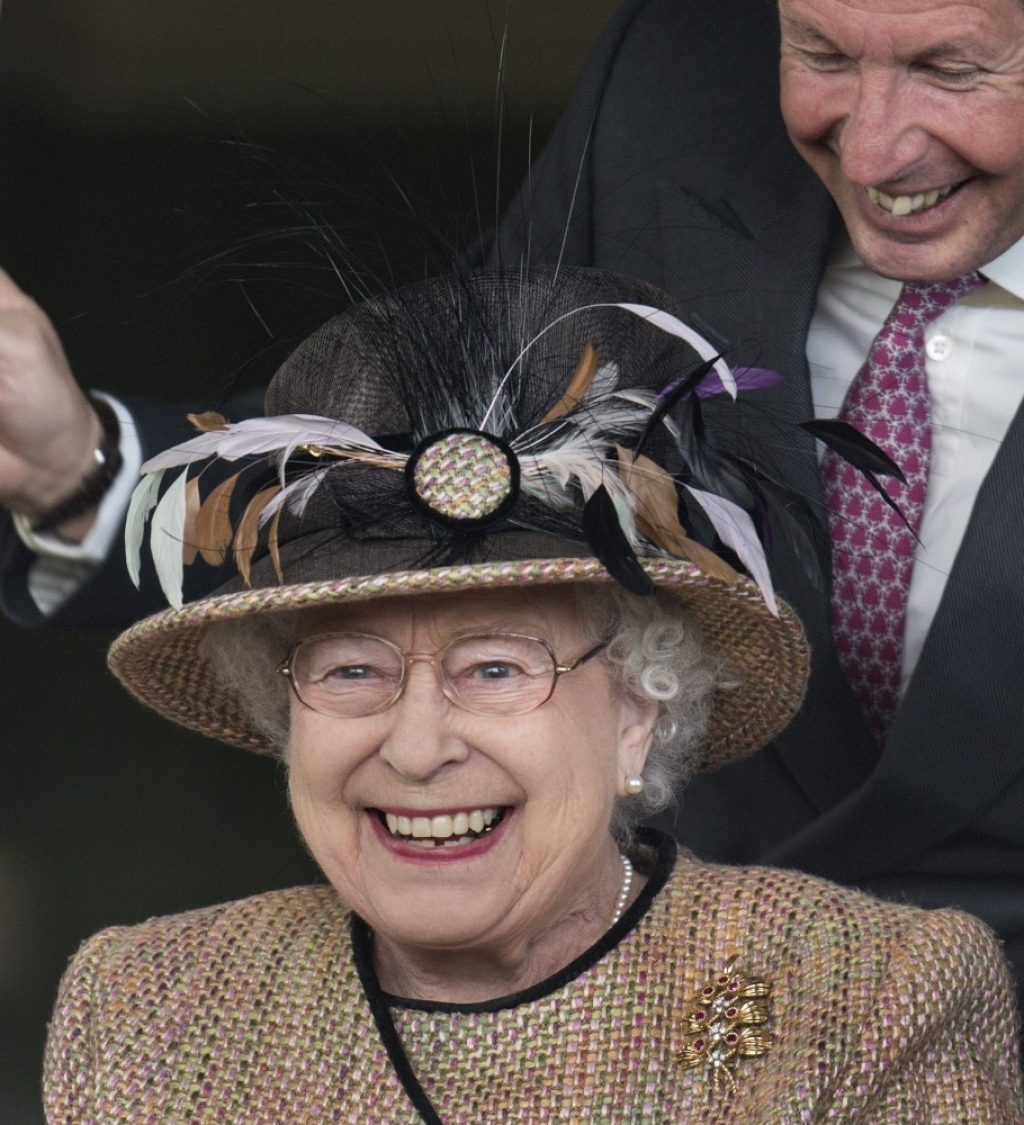 Queen Elizabeth II Wins Big at the Races 34705