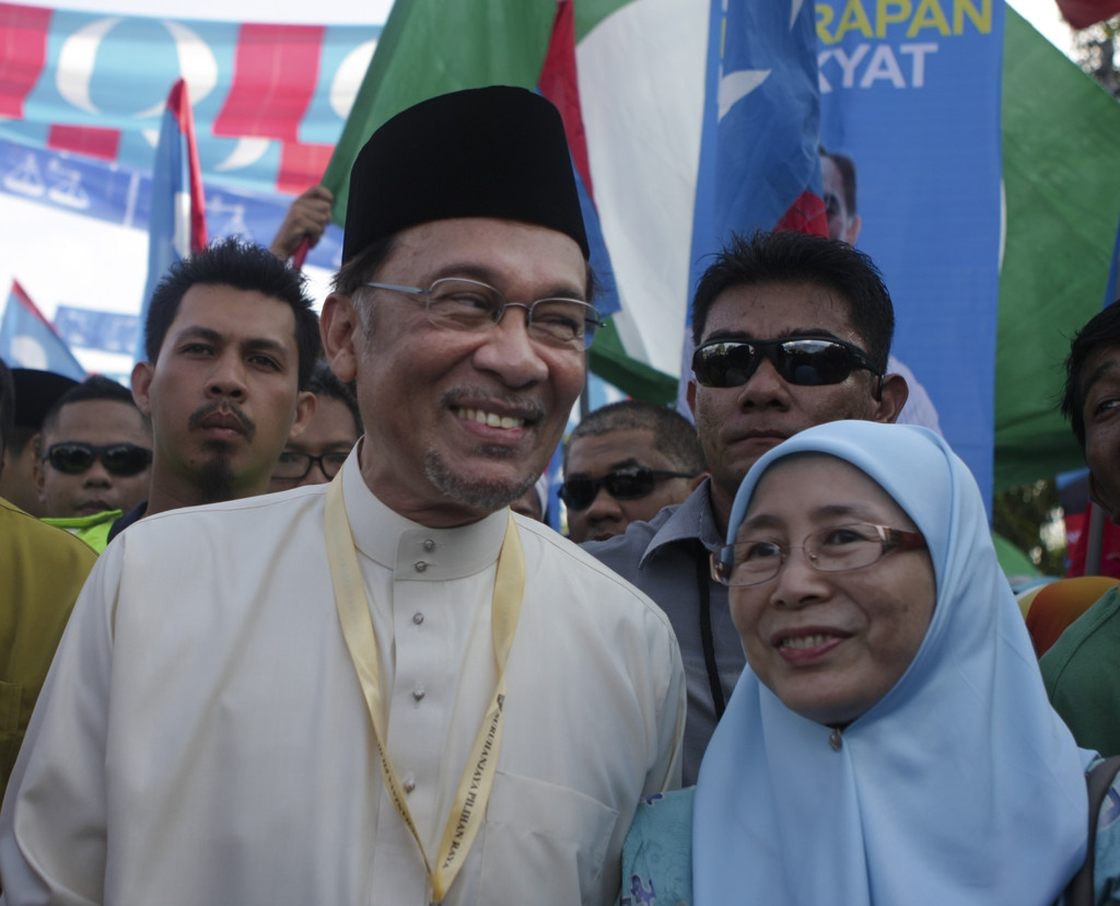 Nomination Day Is Held Ahead of Malaysia's General Election 34786