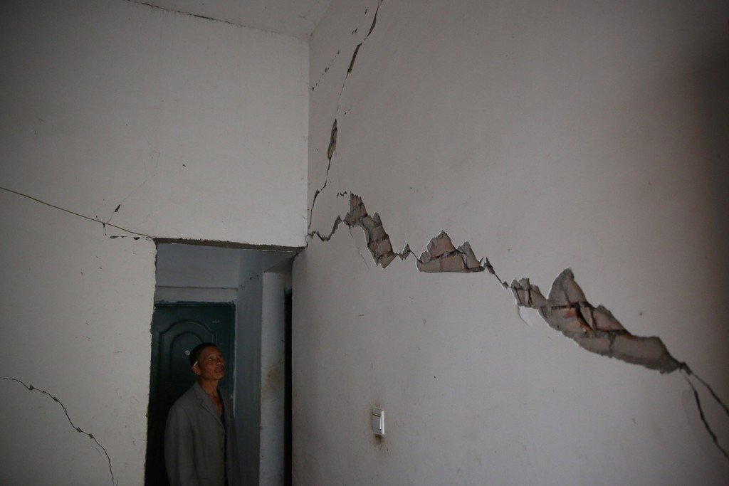 Magnitude 7 Earthquake Hits China's Sichuan Province 34871